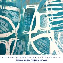 SOULFUL scribbles stencils live stream by traci bautista