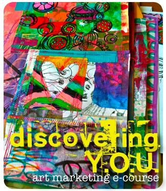 discovering YOU art marketing e-course by Traci Bautista