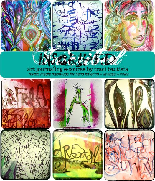 INSCRIBED: art journaling e-course
